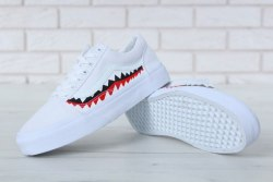 "BAPE Old Skool ""Shark"" Men V a n s"