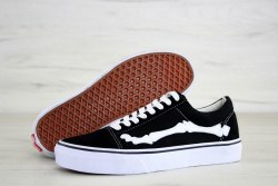 Old Skool Vault X Bones Black V a n s
