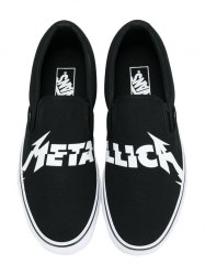 Vans × Metallica Slip-On Vans