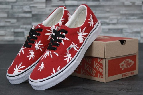 Кеды Vault Era LX OG 'Palm Leaf Red Vans