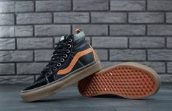 Кеды SK8 HI MTE Pelle Nera black/orange gum Vans
