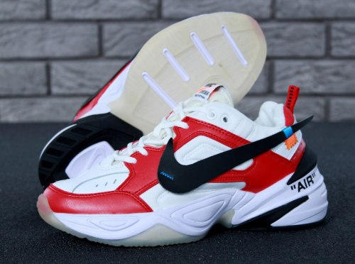 M2K Tekno White/Red Nike