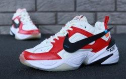 M2K Tekno White/Red Nike