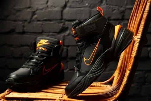 """M2K Tekno Winter """"Black/Orange"""" Nike"""