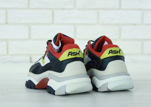 Addict Sneakers Black White Red ASH