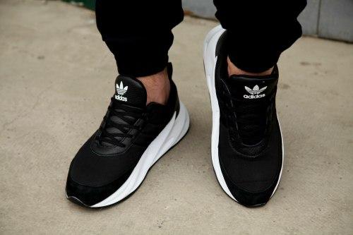 Sharks Boost Black White Adidas