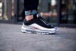 Air Max 97 QS 'Black/Metallic Silver Nike