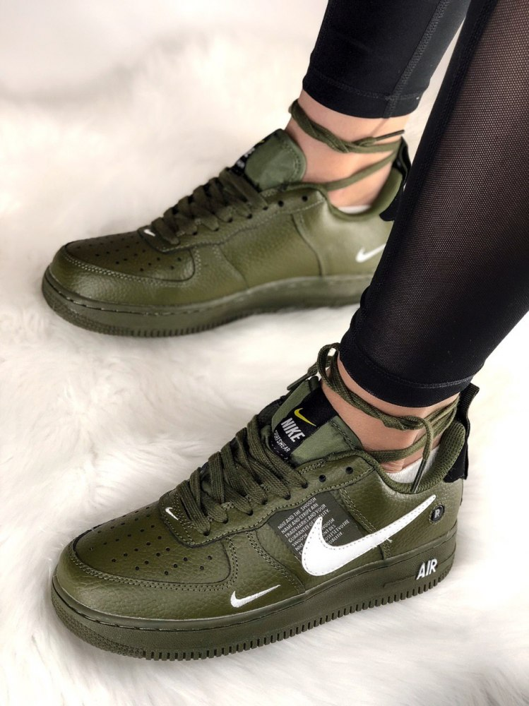 new style b2673 9b965 Air Force 1 Low Utility Olive Canvas Nike