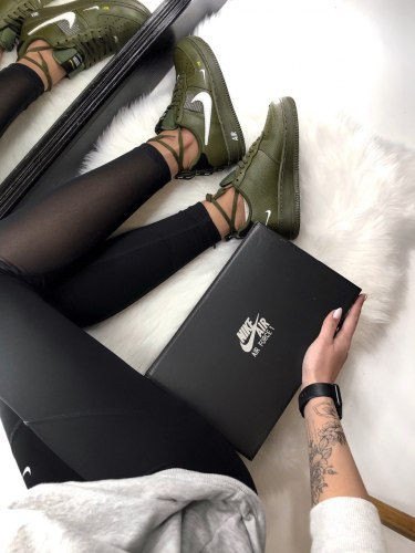 Air Force 1 Low Utility Olive Canvas Nike