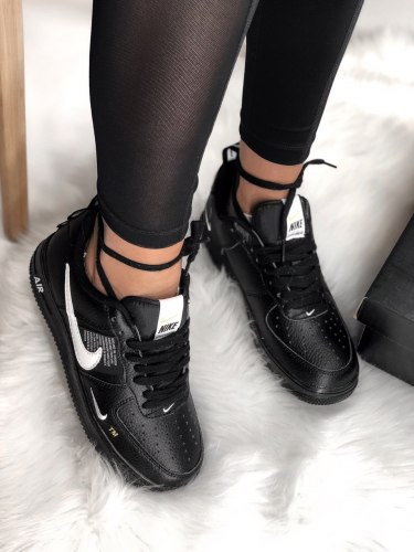 Air Force 1 Low Utility Black White Nike