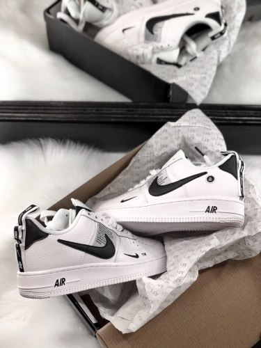 Air Force 1 Low Utility White Black (GS) Nike
