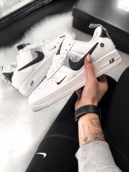Air Force 1 Low Utility White Black (GS) Women Nike