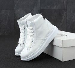 Oversized Sneakers White HI Alexander McQueen