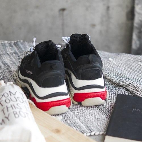 Triple S black/red (3-ёх слойная подошва) man Balenciaga