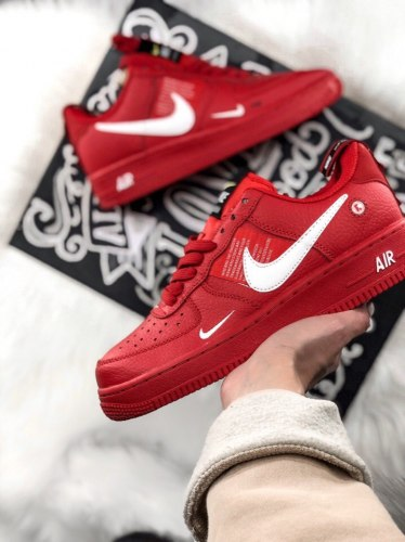 Air Force 1 Low Utility Red (GS) Nike