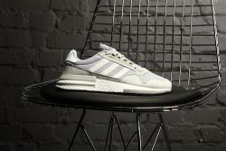 "ZX 500 RM ""Cloud White"" Grey Adidas"