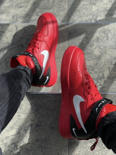Air Force 1 HI Utility Red (GS) Nike