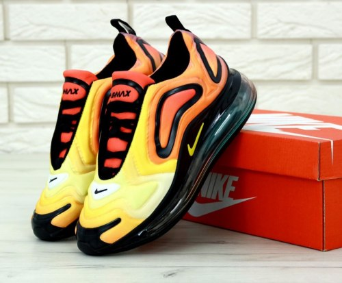 Air Max 720 Orange Black Nike