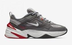 M2K Tekno Grey Red Nike