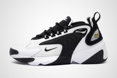 Zoom 2K White Black Nike
