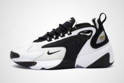 Zoom 2K White Black Nike