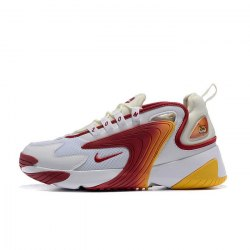 Zoom 2K 'White/Red/Yellow' Nike