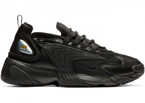 Zoom 2K Triple Black Nike