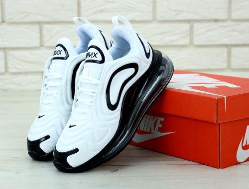 Air Max 720 White Black White Nike