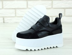 Eclypse Platform Sneakers - Black|White STELLA MCCARTNEY