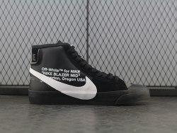 "Off-White x Blazer Mid ""Grim Reaper"" Nike"