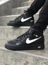 Air Force 1 HI Utility Black (GS) Nike