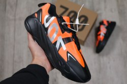 "Yeezy 700 Black Orange ""700"" Adidas"