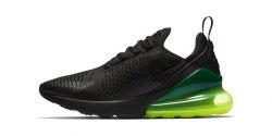 Air Max 270 Black/Green Nike