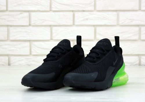 Air Max 270 Black/Green Nike