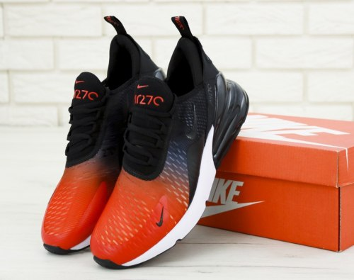 Air Max 270 Black/Orange Nike