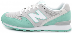 996 Grey/Mint Green New Balance
