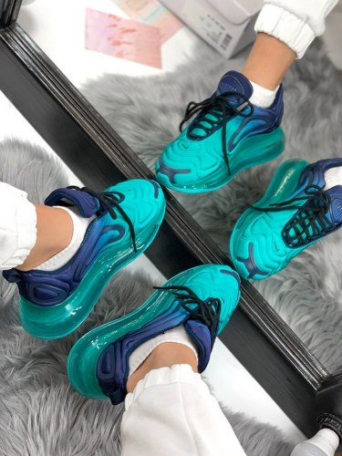 Air Max 720 blue green gradient Nike