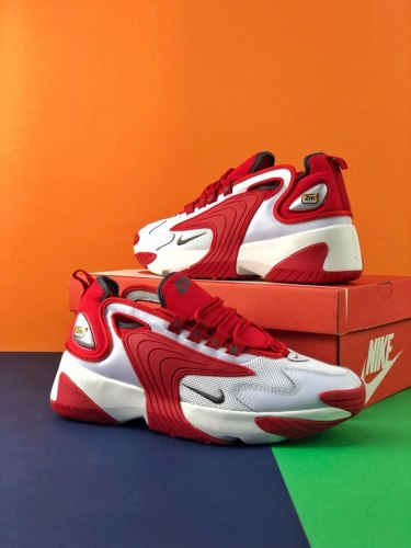 Zoom 2K White Red Nike