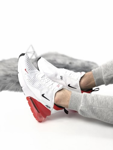 Air Max 270 White Red Nike