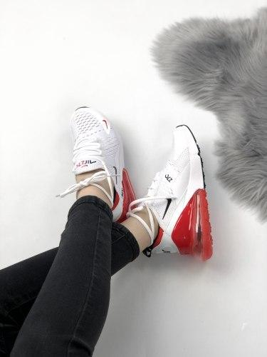 Air Max 270 White Red Nike