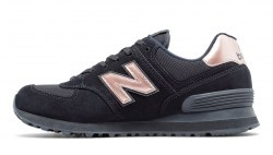 574 Black With Steel New Balance