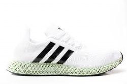Adidas × Daniel Arsham Future Runner 4D White Adidas
