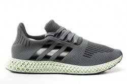Adidas × Daniel Arsham Future Runner 4D Grey Adidas