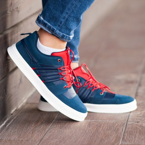 South Mason NAVY/RED 9842 South brand