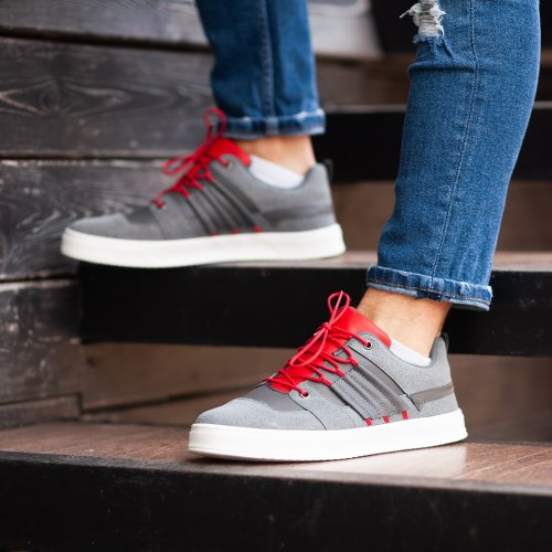 South Mason gray/red 9841 South brand
