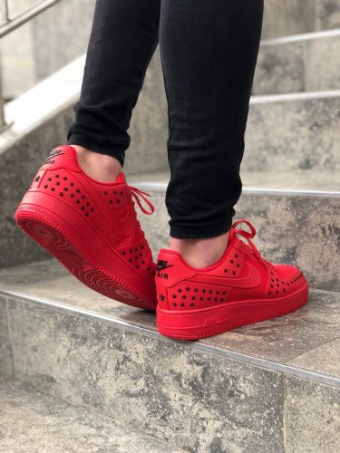 Air Force 1 Star Pack Red Nike