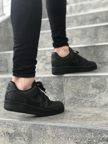 Air Force 1 Star Pack Black Nike
