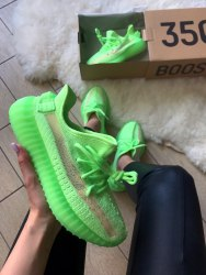Yeezy Boost 350 V2 «Glow In The Dark» Green Adidas