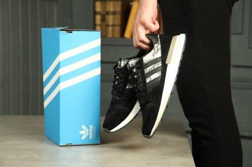 """Эксклюзивная модель Сommonwealth x adidas ZX 500 RM """"Black/Camo"""" Adidas"""