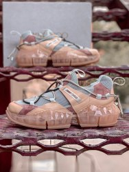 Женские кроссовки 2019 Jimmy Choo Pink